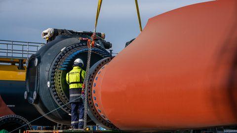 Die Turbinen können um 360 Grad im Wasser geschenkt werden.