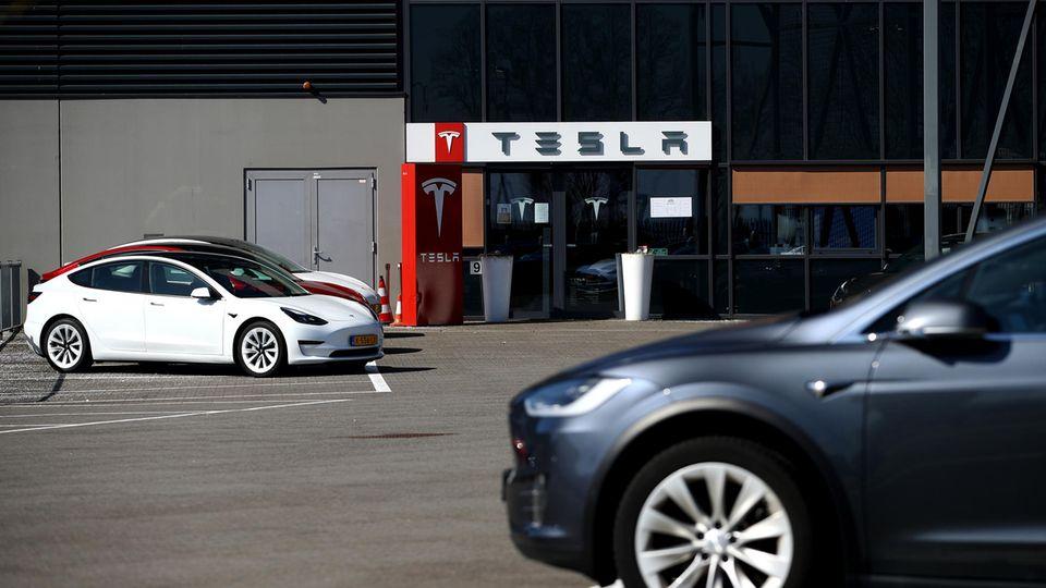 Tesla-Gebäude in Tilburg, Niederlande