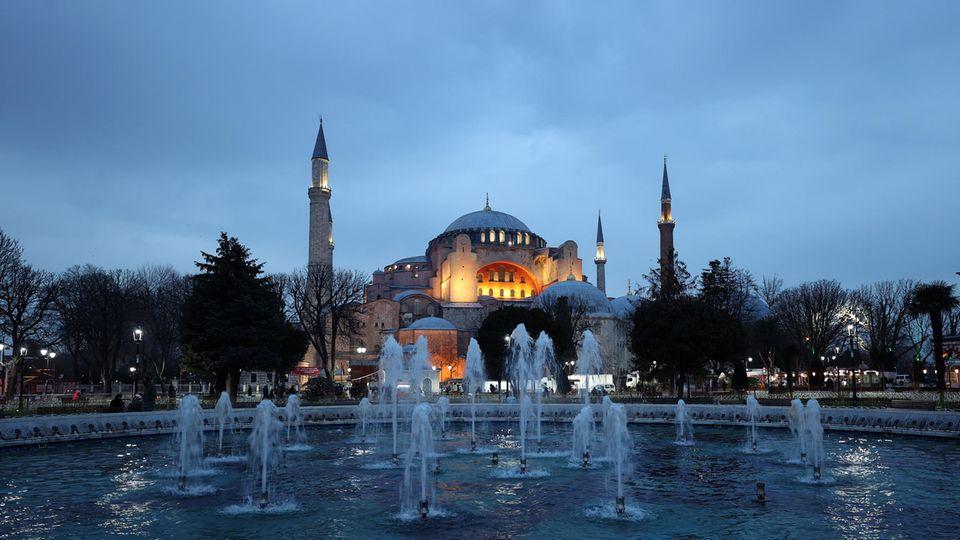 Hagia Sophia in Istanbul (Archivbild)