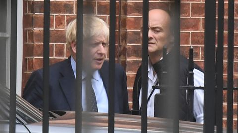 Boris Johnson und Dominic Cummings