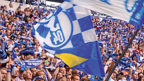 Fans im Stadion von Schalke 04