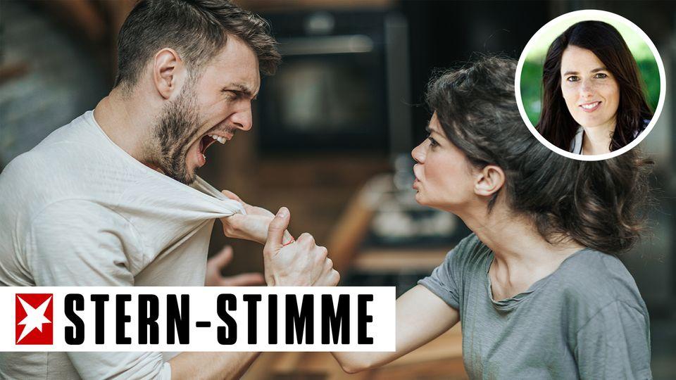 Immer wieder kam es zwischen Stefan und seiner Freundin zu heftigen Streits (Symbolbild)