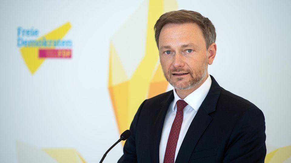 FDP-Partei- und Fraktionschef Christian Lindner