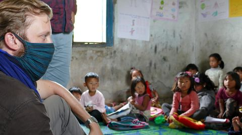 """""""Fälle von Kinderarbeit und häuslicher Gewalt haben stark zugenommen"""", berichtet Childaid-Mitarbeiter Jonas Pfäffinger"""