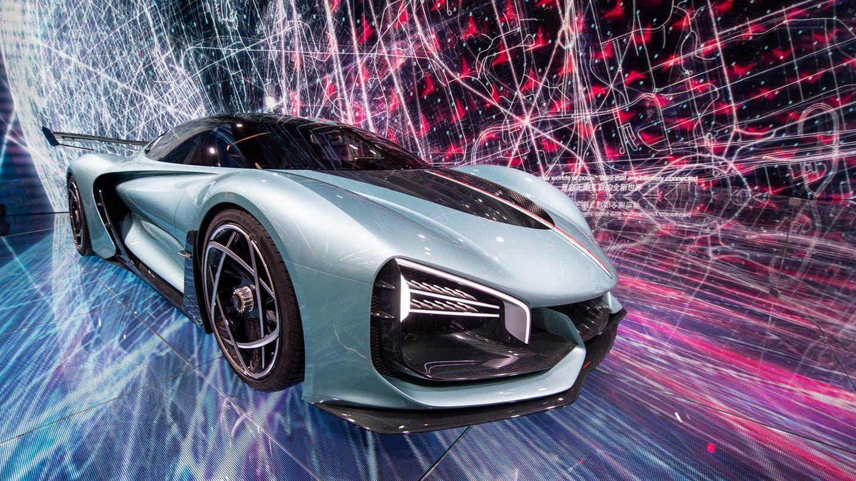 Der Hongqi S9 wird als Concept-Car des chinesischen Herstellers auf der IAA präsentiert.