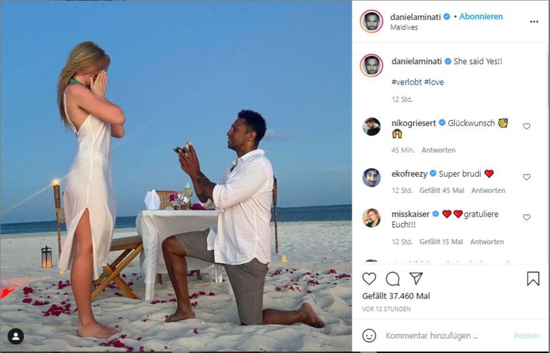 Vip-News: Daniel Aminati hat sich verlobt