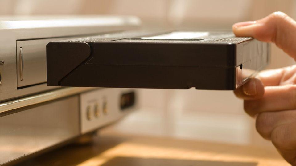 Die Zeit der VHS-Kassette ist längst vorbei