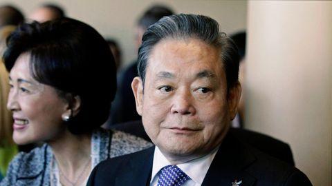 Der ehemalige Chef des Samsung-Konzerns Lee Kun Hee.