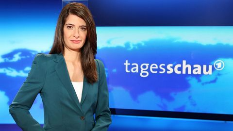 """Linda Zervakis arbeitet seit 2013als """"Tagesschau""""-Sprecherin"""