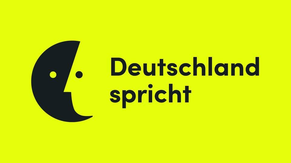 """Logo """"Deutschland spricht"""""""