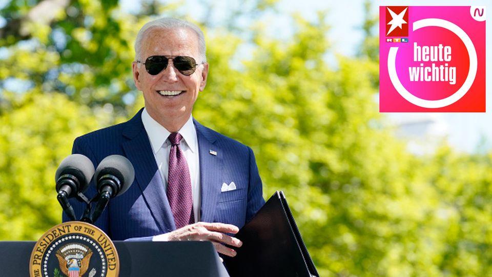 """""""Biden hat es geschafft, dass der Staat plötzlich auftritt. Das hat es in den letzten 30 Jahren in den USA nicht gegeben"""", sagt stern-Korrespondent Raphael Geiger."""
