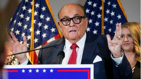 Rudy Giuliani, früherer Bürgermeister von New York