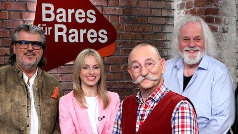 Händler von Bares für Rares: Horst Lichter präsentiert die Erfolgsshow im ZDF