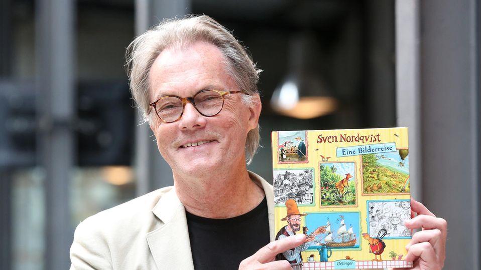 Der schwedische Kinderbuchautor Sven Nordqvist