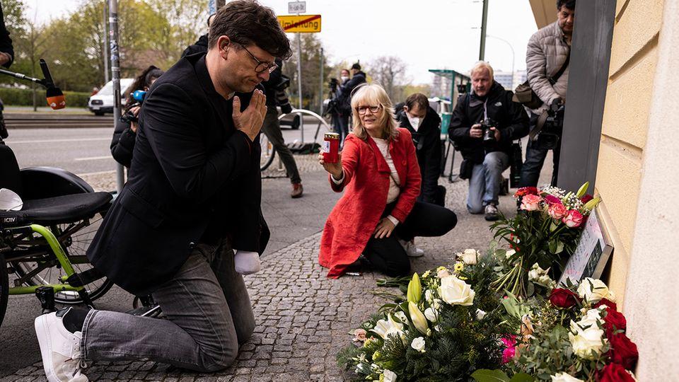 """Passanten trauern in Potsdam: """"Ich war in Schockstarre"""""""