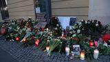 Blumen und Kerzen in Potsdam