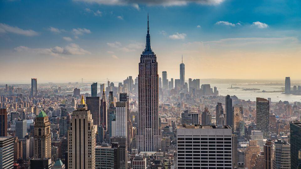 Mit Antenne ist dasEmpireState Building inzwischen rund 443 Meter hoch