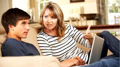 Streit mit Teenagern