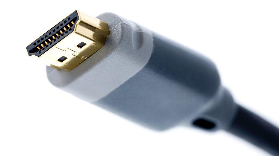 Feststellschraube Fehlanzeige – der HDMI-Anschluss verzichtet auf eine Sicherung.