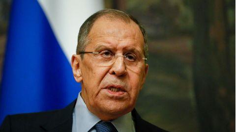 Sergej Lawrow, Außenminister vonRussland