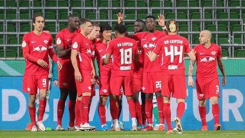 RB Leipzig steht im DFB-Pokalfinale