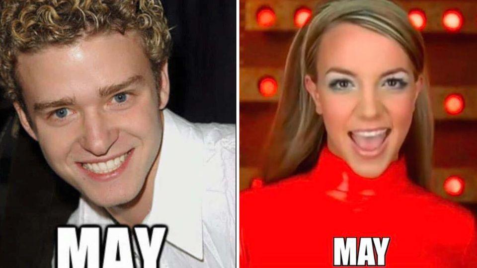"""It's gonna be may"": Streit um berühmtes Justin-Timberlake-Meme: Was dahinter steckt"