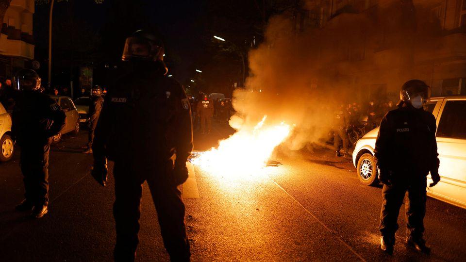 Demonstrationen: Die Demonstrationen in Berlin und Hamburg liefen sehr unterschiedlich ab