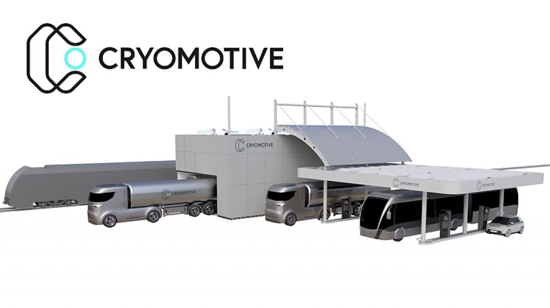 Cryomotive Tankstelle