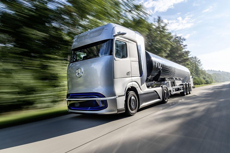 Der Brennstoffzellen-Antrieb ist für den Schwerlastverkehr geeignet