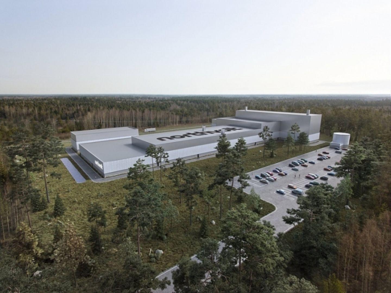 Das Versuchslabor des skandinavischen Batteriezellen Start Ups Northvolt seht bereits