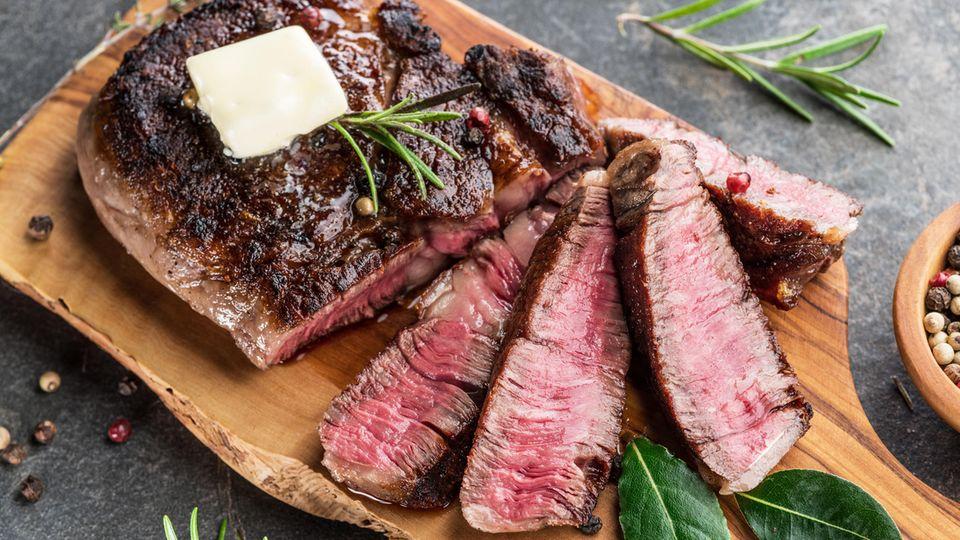 Rindfleisch-Steak