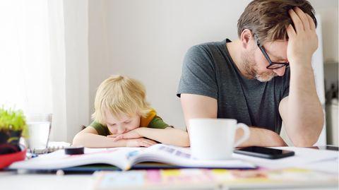 Homeschooling macht vielen Eltern und Kindern zu schaffen.