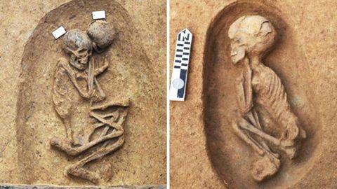 Sensationsfund in Ägypten: 110 Grabstätten bei Ausgrabungen entdeckt.