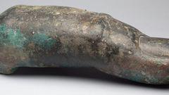 Zunächst wurde mit einer exakten Nachbildung des Fingers ausprobiert, ob er auch wirklich zur Hand gehört.