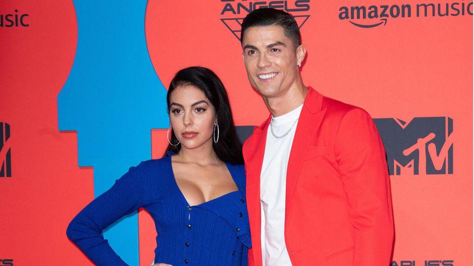 Ronaldo und Freundin Georgina