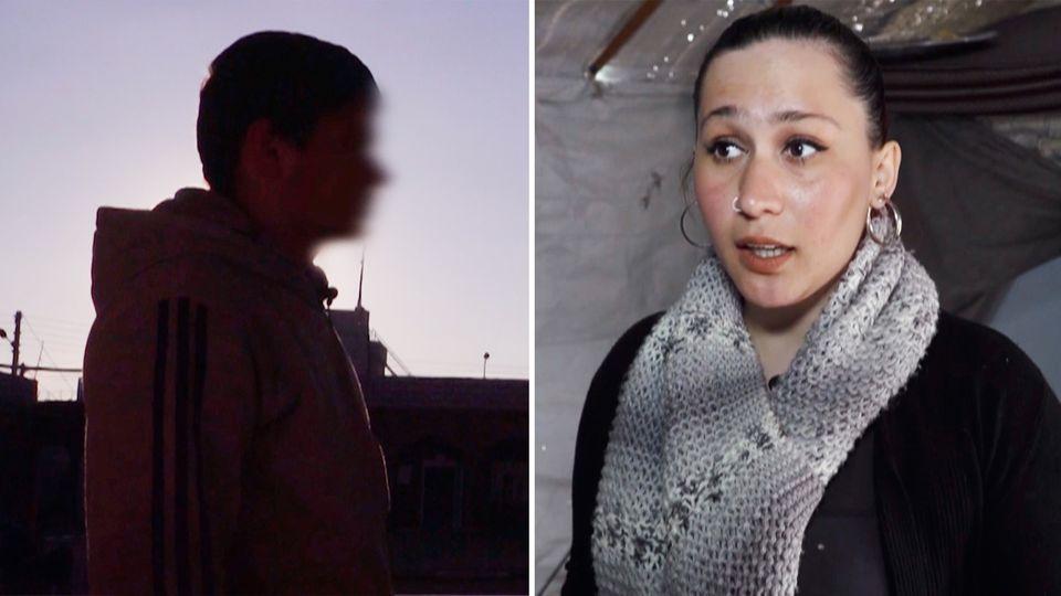 Dschihadisten-Gefängnisse: So leben IS-Familien in einem Gefangenenlager
