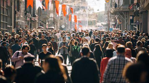 Vor Corona: Die Istiklal Straße in Istanbul
