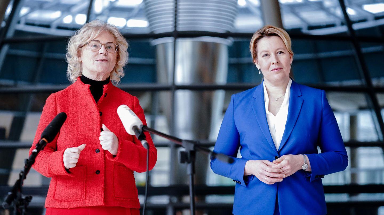 Franziska Giffey und Christine Lambrecht