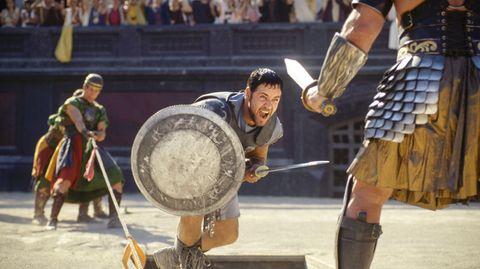 """Im Film """"Gladiator"""" kommt die Mechanik der Arena ins Spiel - mit der Falltür werden wilde Tiere losgelassen."""