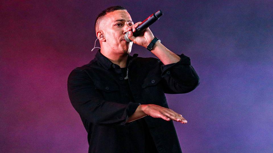 Der deutsche Rapper Farid Bang
