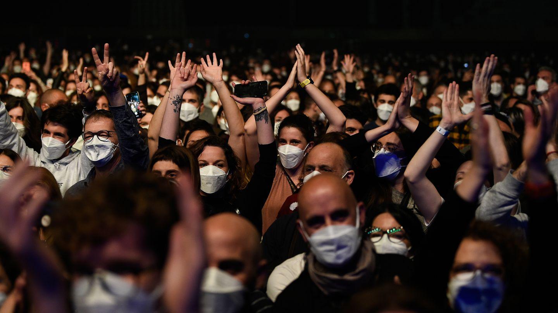 Rock-Konzert in Barcelona