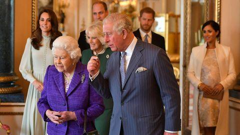 Die britische Royal Family