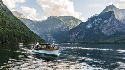 Touristenattraktion in Bayern: der Königssee
