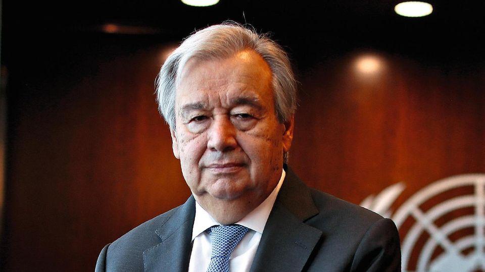Antonio Guterres ist seit 2017 im Amt