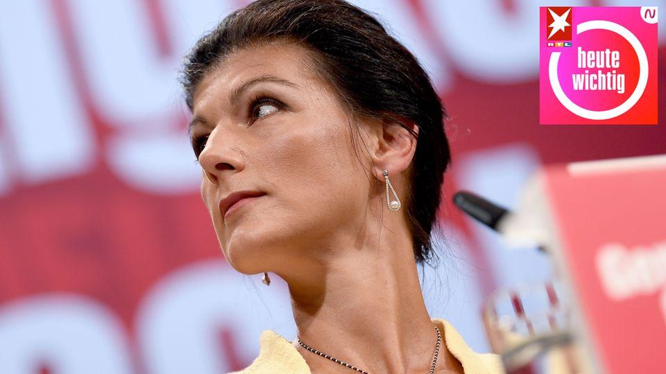 Sahra Wagenknecht Heute Wichtig