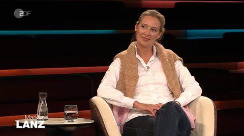 """Alice Weidel bei """"Markus Lanz"""" vom 4. Mai 2021"""
