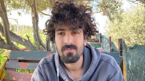Milad Ebrahimi, 21, ein Geflüchteter aus Afghanistan, beim stern-Interview auf Lesbos Ende April