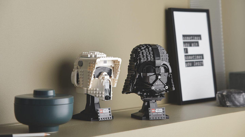 Lego-Neuheiten: Darth Vader und der Scout Trooper ergänzen die Lego Star Wars Helmet Collection