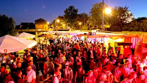 Open-Air-Party (Archivbild)