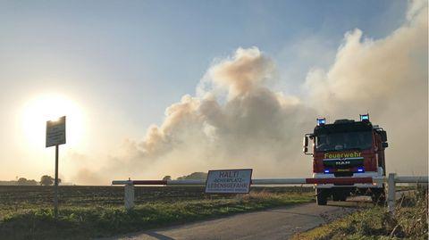 1000 Hektar Moor verbrennen im Herbst 2018 in der Nähe der Stadt Meppen. Auslöser war ein Raketentest im Auftrag der Bundeswehr